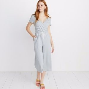 Marine Layer Dana Wrap Jumpsuit Sz S